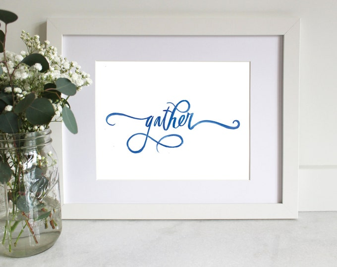Home Printable | Gather
