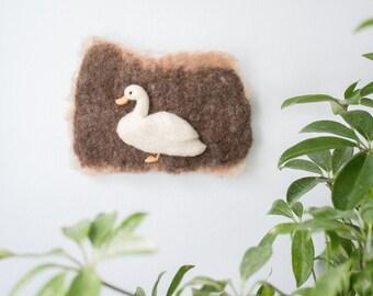 Mini Duck Felt Wall Hanging