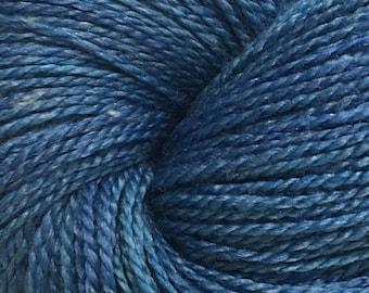 Endless Blue- Superwash Wool/Seacell