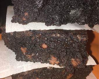 Decadent Blueberry Merlot Brownies