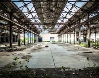 Abandoned Warner factory in Cleveland