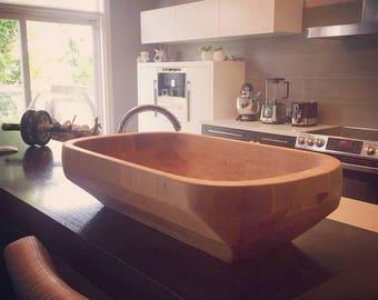 Solid Maple Bowl - Brazilian Gamela