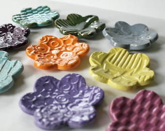 Clay Ring Dishes The Perfect Party Favor for Your Next Event Hand Made