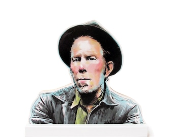 Tom Waits Wooden Standee