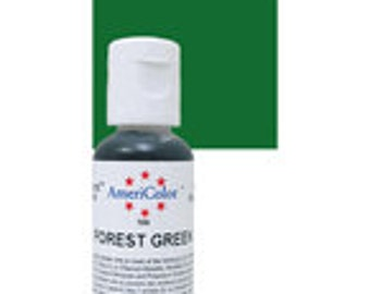 Americolor Forest Green Gel Paste