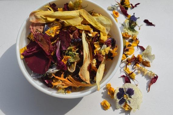 Getrocknete Blüten 5 uns tassen mix lose getrocknete blüten getrocknet wilde