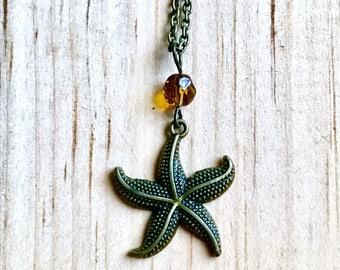 Starfish Beaded Necklace