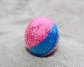 Cotton Candy Bath Bomb, 100% Natural, Bath Bomb, Bath Fizzer, Bath Fizzy, Bath Fizz, Epsom Salt, Bath Salt, Natural, Bath.