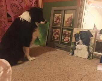 CUSTOM PET PAINTINGS ! portraits of your fabulous pets <3