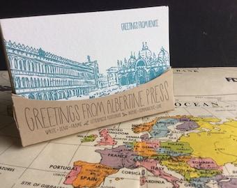 European Postcard Pack - 20 postcards