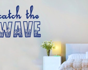 Catch The Wave Wall Sticker