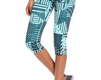 All Over Custom Printed Capri Leggings