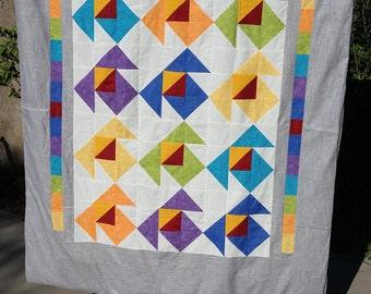 Handmade Kimono Quilt