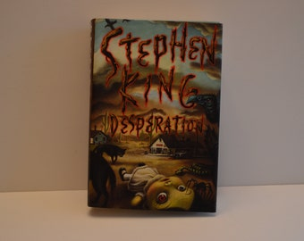 1996 Stephen King Desperation Hardcover with Dust Jacket