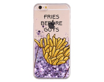 Fries Before Guys | iPhone 8 case | iPhone 8 Plus case| iPhone 7 case| iPhone 7 Plus case | iPhone 6s | 6 Plus | iPhone X | French Fry Lover