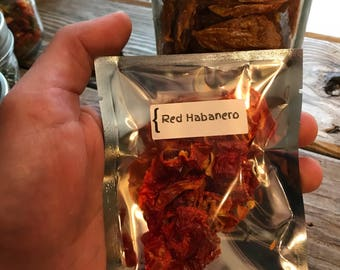 Dehydrated Hot Peppers