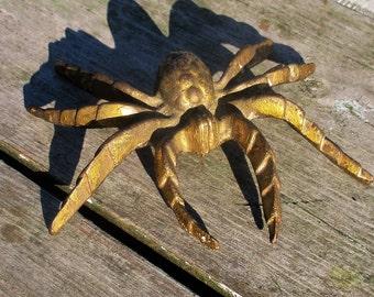 Vintage Brass Spider Small Authentic retro decoration figurine