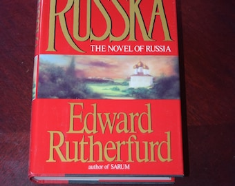 Signed First Edition Russka by Edward Rutherford