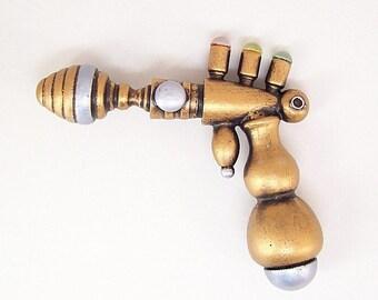 Boulon de tri Defecter rétro Ray Gun vie pleine taille science-fiction réplique bois Prop