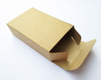 Small Soap Packaging, Kraft Soap Box Set of 20