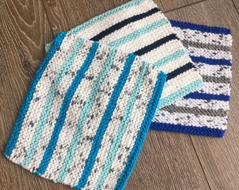Cotton Dish Cloths - set of 3