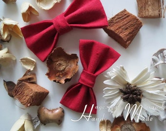 Linen bow-tie