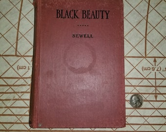 Vintage 1924 Book (Black Beauty) by Sewell