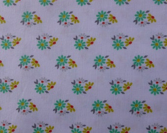 1/2 Yard Cotton Quilting Fabric - Michael Miller Hank and Clementine, Gloria Floral
