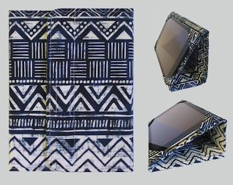 iPad Cover Hardcover, iPad Case, iPad Mini Cover, iPad Mini Case, iPad Air Case, iPad Pro Case, iPad 2, iPad 3, iPad 4 Blue Tribal