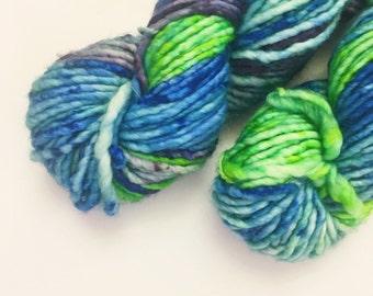 High Tide - Hand dyed bulky weight merino yarn