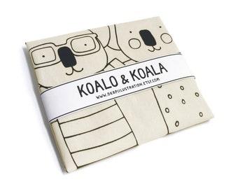 Tote bag Koalo & Koala