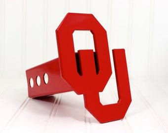 OU Hitch Cover, Red