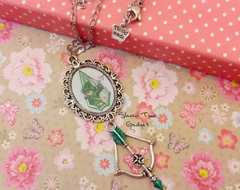 Cameo necklace with OLIVER QUEEN - DISCOUNT