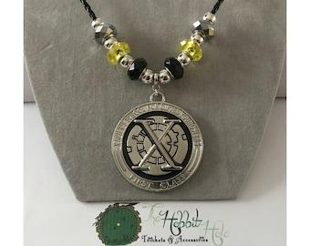 Handmade X-Men Inspired Necklace