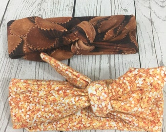 Two baby Headbands 6-12 months