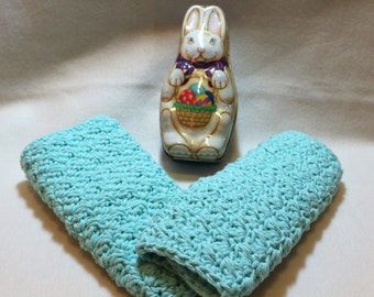 Spring dishcloths