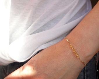 Gold citrine bracelet, Citrine gemstone bracelet, Gold bracelet, Gemstone bracelet, November birthstone bracelet, Gifts