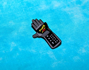 PRE-ORDER Power 96 Glove Soft Enamel Pin