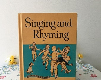 Memorial Day 1950 Singing and Rhyming Music Book