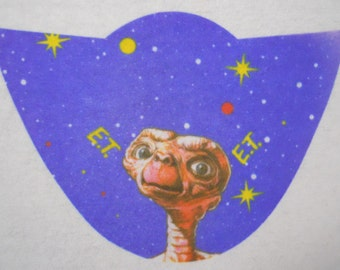 VINTAGE! 1982 E.T. The Extra-Terrestrial Heat Transfer Iron On-ET