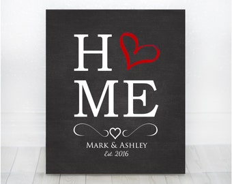 Wedding Gift, First home gift, New home, New house, Housewarming gift, Our First Home, House Warming, First Home Gift, 1st Home Personalized