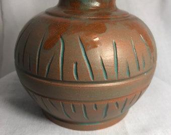 Tribal style Ceramic Jar