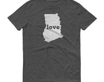 Ghana, Ghana Dress, Ghana Shirt, Ghana T Shirt, Ghana TShirt, Ghana Map, Ghana Gifts, Made in Ghana, Ghana Love Shirt, Ghana Clothing