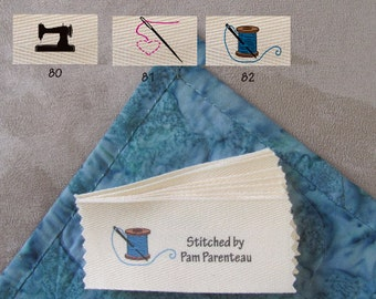 """Personalized Sewing Labels-Large size-1.5"""" x 3.5"""""""