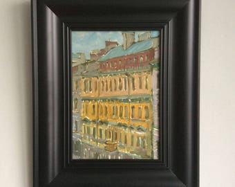 """Picture in the frame. """"Paris street"""""""