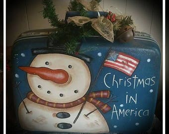 Christmas In America - Painting Pattern Only