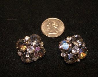 WEISS Crystal Earrings(1054)