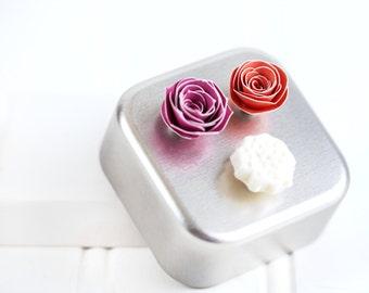 Bridal Shower Favors - 20 Magnet Sets (with storage tins)