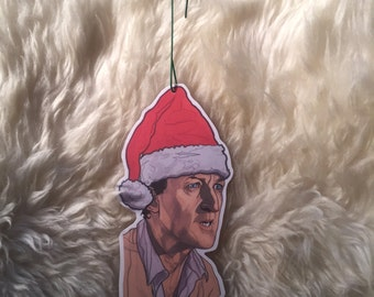 Jurassic Park Muldoon Christmas ornament