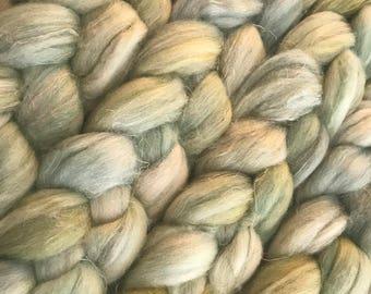 FCA Fiber - Spanish Moss - Merino, Tussah Silk, Flax